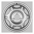 Alcar, Stahl, 3,5x15 ET20,5 3x112 57, silber