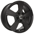 Diewe Wheels, Matto, 7x17 ET55 5x120 65,1, Nero