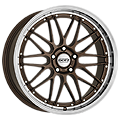 Dotz, Revvo, 7,5x17 ET35 5x120 72,6, bronze polished lip