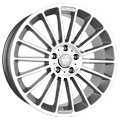 Keskin, KT15 Speed, 8,5x19 ET45 5x112 66,6, palladium front polish