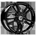 Tomason, Easy, 7,5x17 ET42 5x110 73,1, black glossy