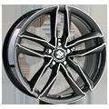 Ultra Wheels, Pro, 7,5x17 ET35 5x112 66,5, gunmetal polished