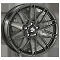 Ultra Wheels, Race, 8,5x18 ET35 5x120 72,6, flat black