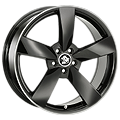 Ultra Wheels, Rotor, 8,5x19 ET45 5x112 66,5, black rim polished