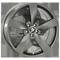 Ultra Wheels, Rotor, 8,5x19 ET45 5x112 66,5, dark grey