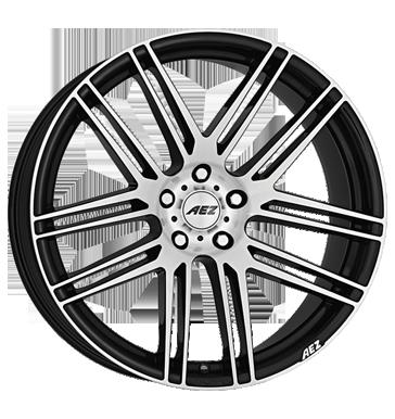 AEZ, Cliff Dark, 9x20 ET25 5x120 74,1, black polished