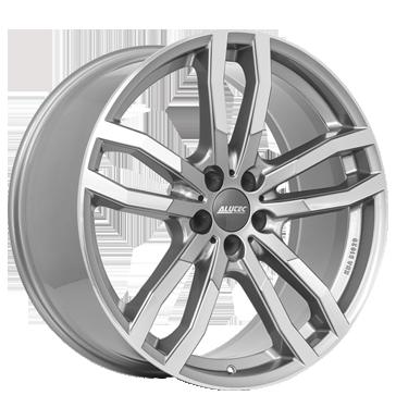 Alutec, Drive X, 8,5x19 ET28 5x112 66,5, metal-grau-frontpoliert