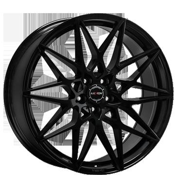 Axxion, Competition, 8,5x19 ET25 5x112 66,6, schwarz glänzend lackiert