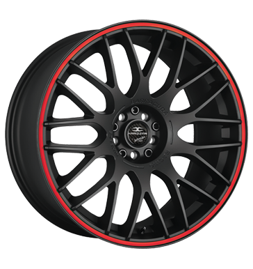 Barracuda, Karizzma, 10,5x20 ET40 5x108 73,1, PureSports / Color Trim rot
