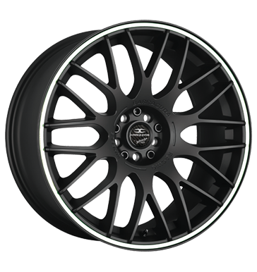 Barracuda, Karizzma, 10,5x20 ET40 5x108 73,1, PureSports / Color Trim weiss