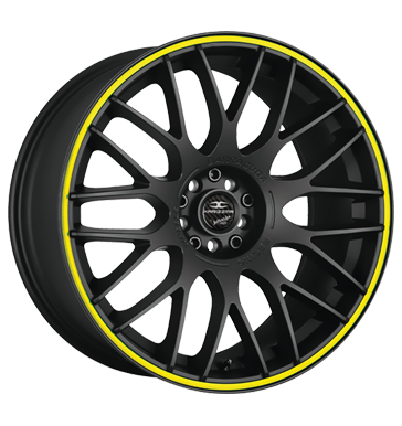 Barracuda, Karizzma, 10,5x20 ET40 5x108 73,1, PureSports / Color Trim gelb