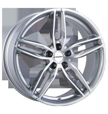 Carmani, 13 Twinmax, 8,5x19 ET42 5x114,3 72,6, bright silver