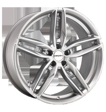 Carmani, 13 Twinmax, 8,5x19 ET35 5x112 66,6, white silver