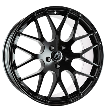 Damina Performance, DM01, 9x20 ET22 5x112 66,6, black