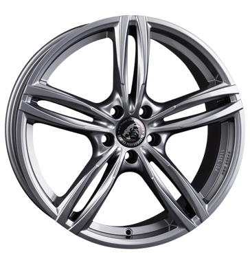 Damina Performance, DM03, 8,5x19 ET30 5x112 66,6, anthracite