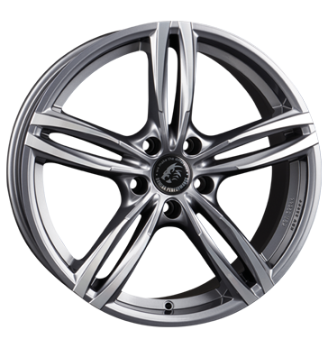 Damina Performance, DM03, 8,5x19 ET30 5x112 66,6, anthracite polished