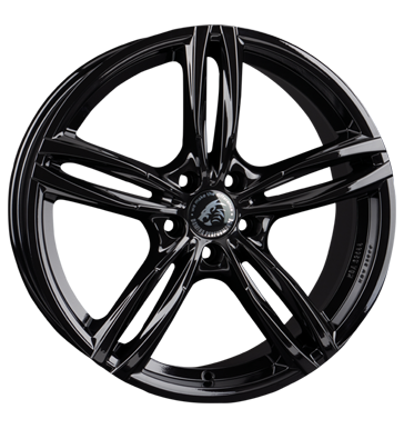 Damina Performance, DM03, 8,5x19 ET30 5x112 66,6, black