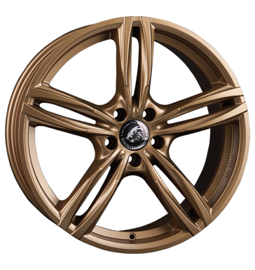 Damina Performance, DM03, 8,5x19 ET30 5x112 66,6, bronze
