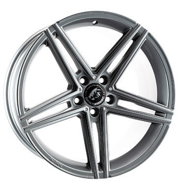 Damina Performance, DM04, 8,5x18 ET35 5x112 66,6, anthracite