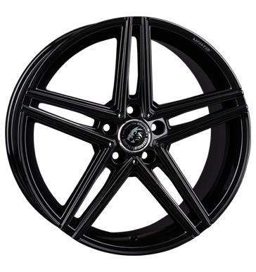Damina Performance, DM04, 8,5x18 ET35 5x112 66,6, black