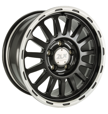 Diewe Wheels, 2LX, 8x17 ET20 5x120 71,5, Nero machined