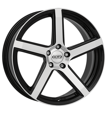 Dotz, CP5 Dark, 7x16 ET15 4x108 65,1, black polished