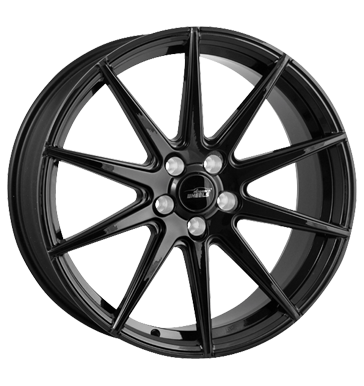 eleganceWHEELS, E 1 Concave, 9x20 ET28 5x112 73,1, highgloss black
