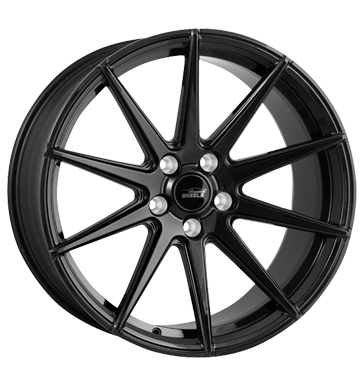 eleganceWHEELS, E 1 Deep Concave, 10,5x20 ET25 5x120 72,6, highgloss black