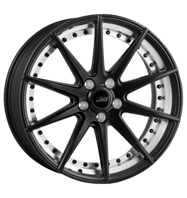 eleganceWHEELS, E 1 Concave, 9x20 ET30 5x120 72,6, matt gunmetal split rim