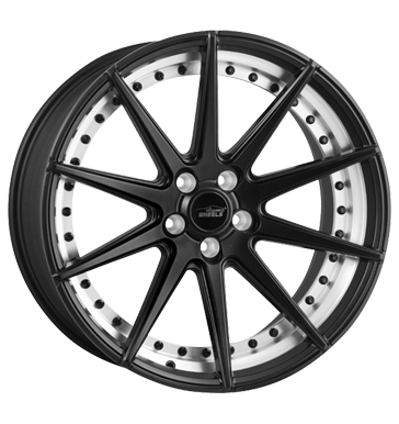 eleganceWHEELS, E 1 Deep Concave, 10,5x20 ET45 5x112 73,1, matt gunmetal split rim