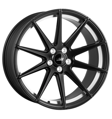 eleganceWHEELS, E 1 Deep Concave, 10,5x20 ET25 5x120 72,6, satin black undercut polish