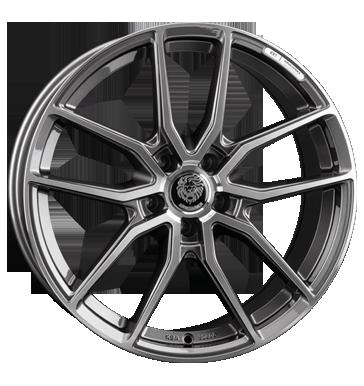Königsräder, KR1, 8,5x19 ET25 5x112 66,6, grey polished