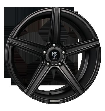 mbDESIGN, KV1, 8,5x19 ET35 5x112 75, schwarz seidenmatt