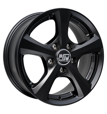 MSW, 19, 6,5x15 ET18 4x108 65,06, matt black