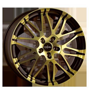 Oxigin, 14 Oxrock, 10x22 ET35 5x112 72,6, brown gold polish