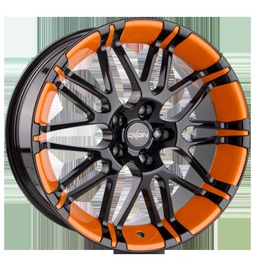 Oxigin, 14 Oxrock, 10x22 ET20 5x120 76,9, foil orange