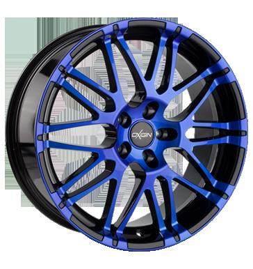 Oxigin, 14 Oxrock, 10x22 ET35 5x112 72,6, blue polish