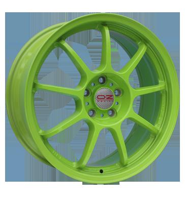 OZ, Alleggerita HLT, 10x18 ET40 5x120,65 70,1, acid green
