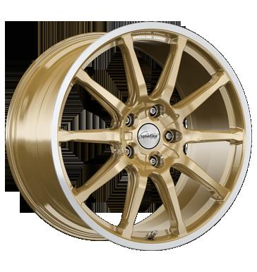 Speedline Corse, SC1 Motorismo, 10,5x20 ET28 5x112 66,5, racing gold-hornkopiert
