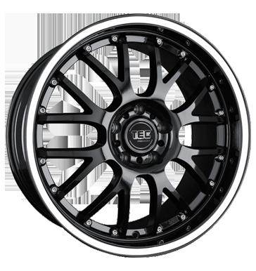 TEC Speedwheels, AR 1, 8,5x19 ET30 5x120 72,5, RS-Race mit weißem Ring/Schriftzug