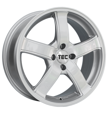 TEC Speedwheels, AS1, 6,5x15 ET20 4x108 65,1, kristall-silber