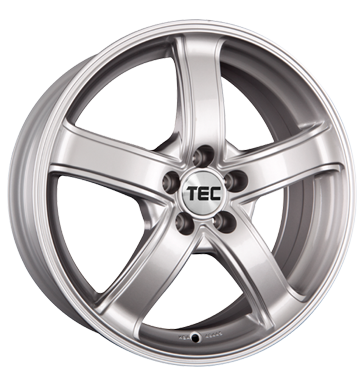 TEC Speedwheels, AS1, 6,5x15 ET38 5x100 57,1, kristall-silber
