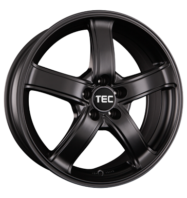 TEC Speedwheels, AS1, 6,5x15 ET38 5x100 57,1, schwarz seidenmatt