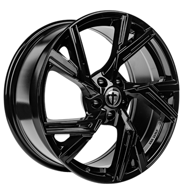 Tomason, AR1, 8,5x19 ET45 5x112 66,6, black painted