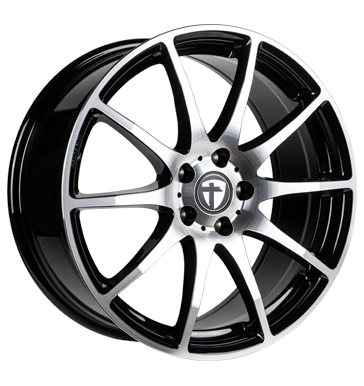 Tomason, TN1, 6,5x16 ET38 4x100 63,4, black polished