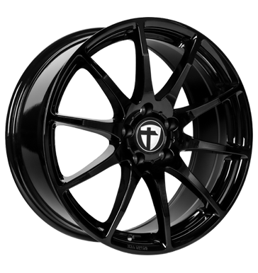 Tomason, TN1, 6,5x16 ET20 4x108 65,1, black painted
