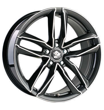 Ultra Wheels, Pro, 7,5x17 ET35 5x112 66,5, gunmetal polished