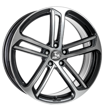 Ultra Wheels, Drift, 8,5x20 ET48 5x112 57,1, gunmetal polished