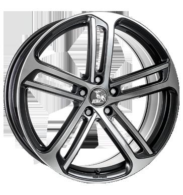 Ultra Wheels, Drift, 8,5x20 ET48 5x112 57,1, gunmetal polished