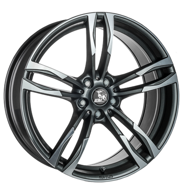 Ultra Wheels, Boost, 8,5x19 ET35 5x120 72,6, gunmetal polished